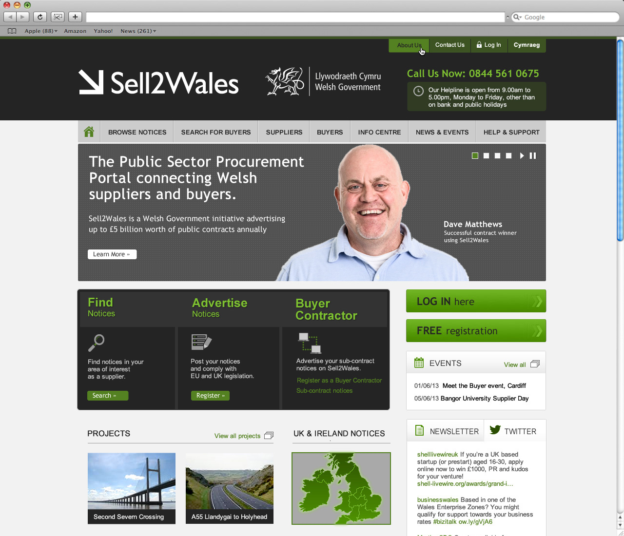 Sell 2 Wales